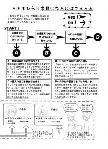 ひらりにゅーす 創刊号 3ページ目